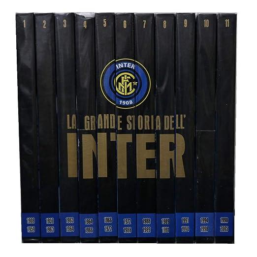 La Grande Storia Dell Inter Collezione Completa 11 Dvd Editoriale La Gazzetta Dello Sport Amazon It Film E Tv