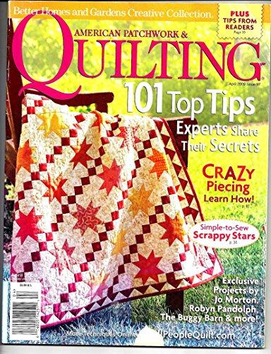 American Patchwork & Quilting Magizine April 2009