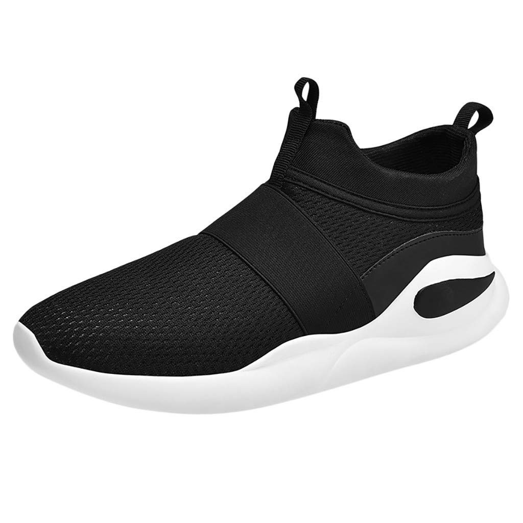 Answerl Men Fashion Walking Shoe Casual Shoes Breathable Sneakers Mesh Slip On Footwear Athletic Shoes
