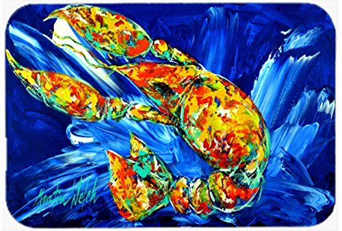 Carolines Treasures MW1228LCB Not Your Plano Crawfish Glass Cutting Board Large Multicolor Large