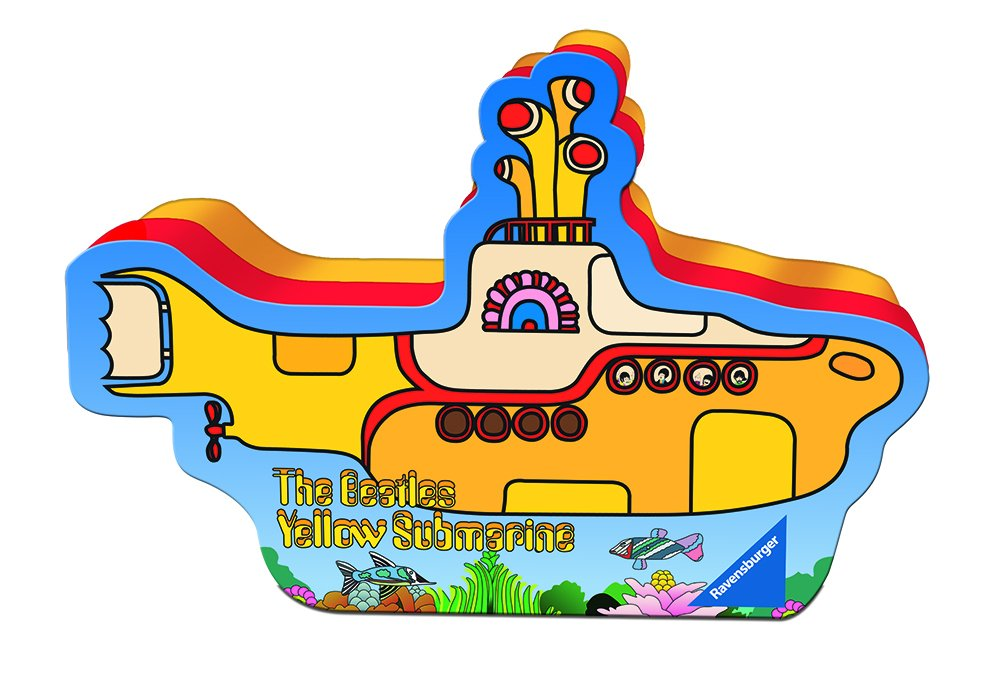 Yellow Submarine 500 Piece Jigsaw Puzzle Adults