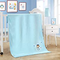Blue Prince Flannel Kids Blanket, Sleeping Blanket 100 x 140CM for Baby Boys Girls Toddler, 100% Microfiber Soft Cozy Blanket