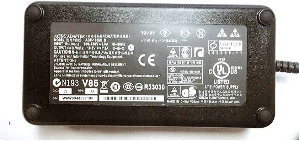 AT LCC AC DC Adapter for Asus Power Supply Cord Cable Charger Fits Asus G74 G75 Series G74sx-dh71 G74sx-a1 G74sx-bbk8 G74sx-dh73-3d G74SX-BBK7 G74SC-BBK8 G74SX-XN1 G75vw-ds72 G75vw-bbk5 G75vw-ds73-3d