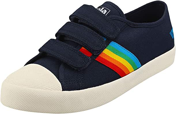 Gola Women's Coaster Rainbow Velcro Sneaker