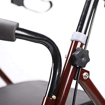 Rollator - Andador plegable de aluminio: Amazon.es ...