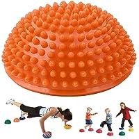 PPAPI Boule dexercice en Forme de Donut pour Yoga Pilates entra/înement d/équilibre avec Pompe Gonflable