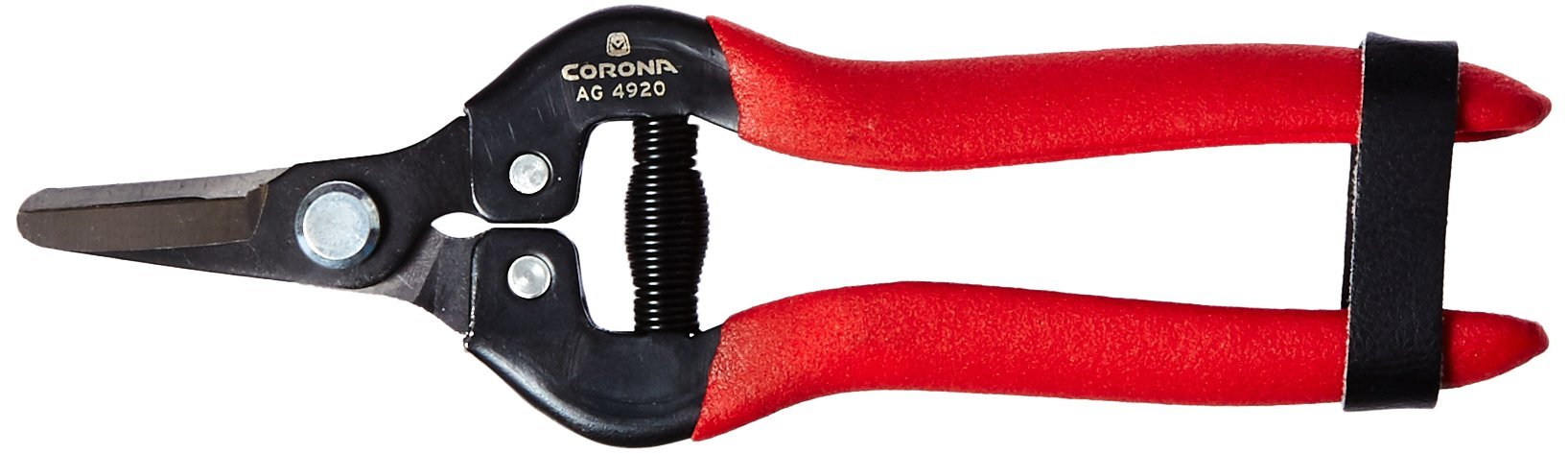 Corona AG 4920SS Short Curved Snip, Stainless Steel