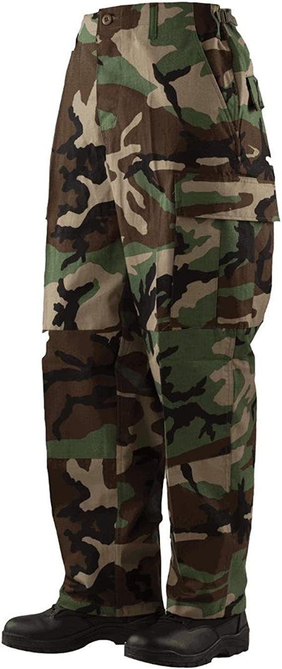 Tru Pantalon 50//50 Nyco homme Woodland