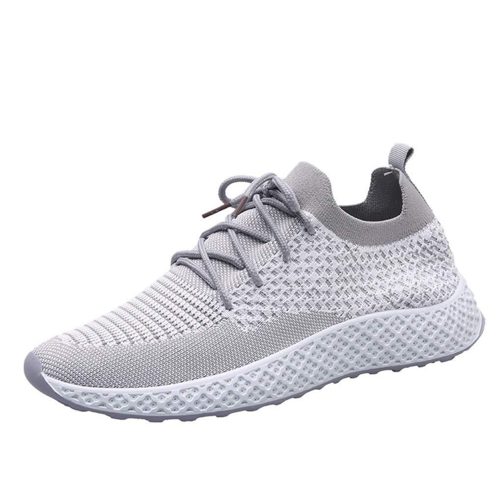 Acquista online MMLC Sneakers Running Basse Uomo, Scarpe Casual da Corsa Leggere Moda Unisex Scarpe da Ginnastica da Passeggio Traspirante miglior prezzo offerta
