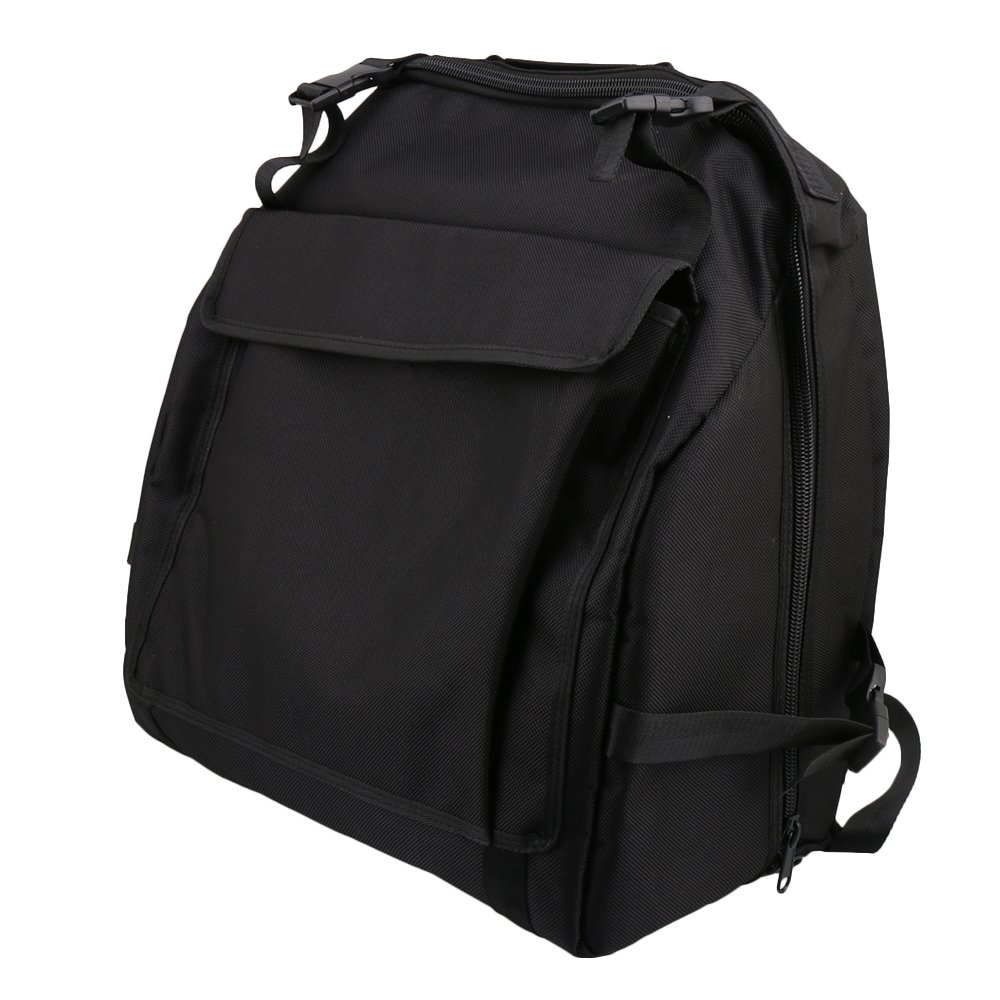 Yibuy 43x45cm 1200D Black Thickened Oxford Cloth Shoulder Bag Soft Carry Case Apply to 60 Accordion Bass etfshop M7180211070