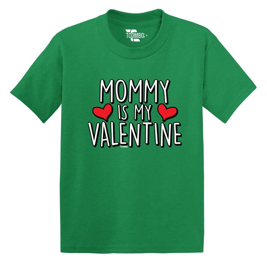 Amazon.com: Tcombo Mommy Is My Valentine - Love Valentine Day Gift ...