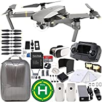 DJI Mavic Pro Platinum Collapsible Quadcopter EVERYTHING YOU NEED Essential Bundle