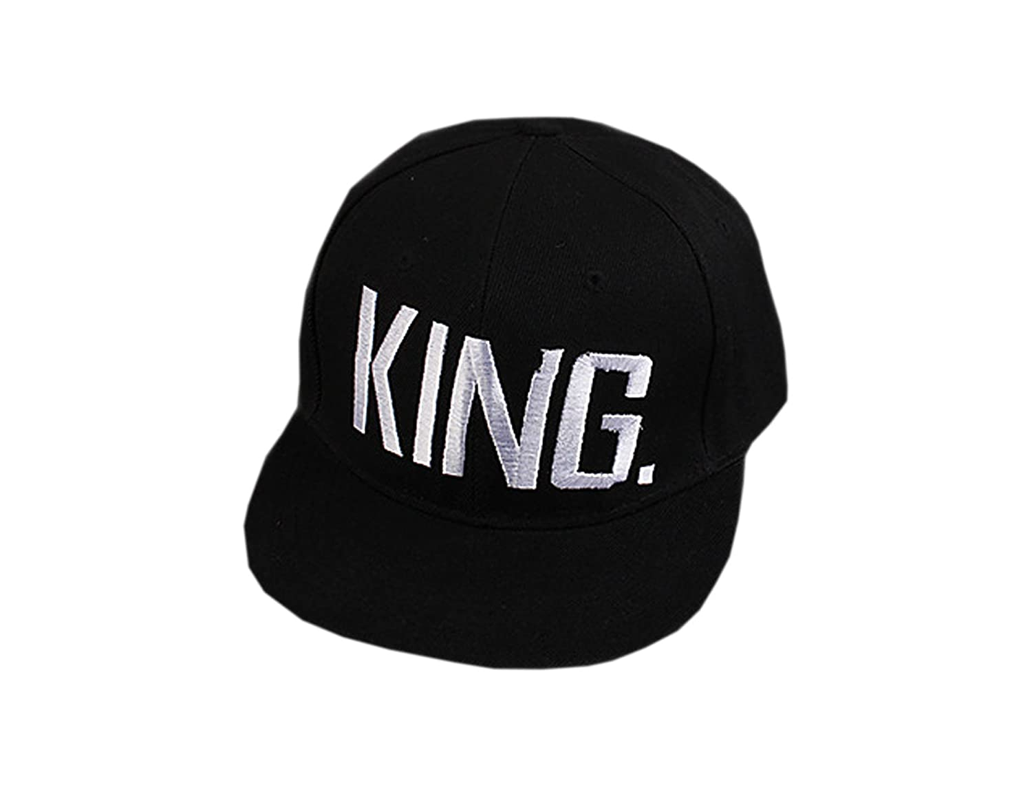 14e69a1de3e95 Buy Handcuffs BFVCU08 Cotton Adjustable King and Queen Caps (Black) Online  at Low Prices in India - Amazon.in