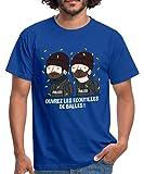 Spreadshirt Wankil Ouvrez Les Écoutilles De Balles T-Shirt Homme