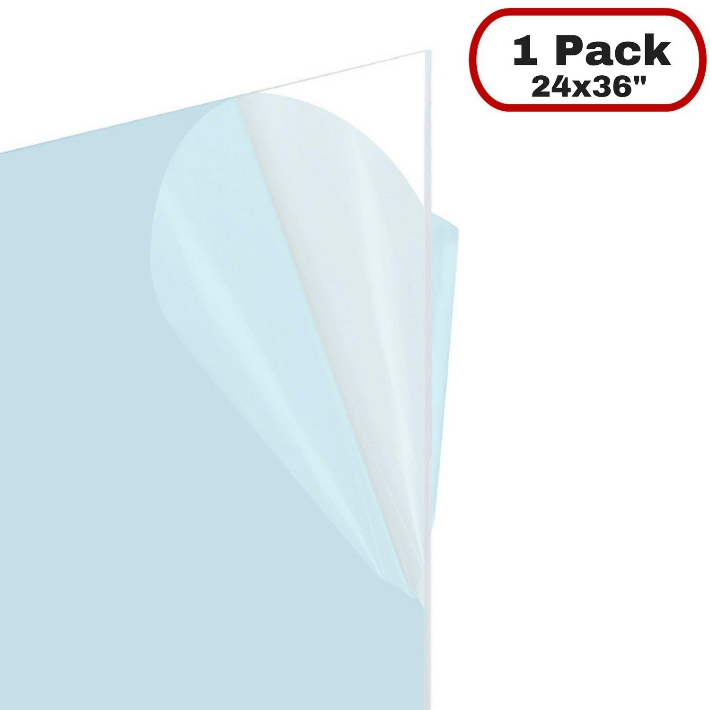 FrameMaster Flexible Plastic Sheet (24x36 Inch, 1 Pack), 0