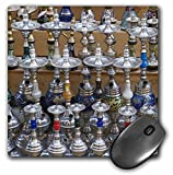3dRose LLC 8 x 8 x 0.25 Inches Mouse Pad, Market, Hookah Pipes in Sidewalk Shop, Luxor, Egypt-Af14 Aje0223 - Adam Jones (mp_71649_1)