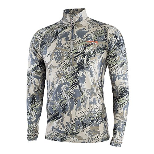 SITKA Gear Core Mid Weight Zip Tee Optifade Open Country X Large