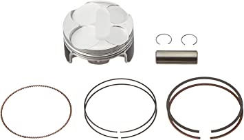Wiseco PK1684 55.00 mm 11.0:1 Compression Motorcycle Piston Kit with Top-End Gasket Kit