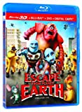 Escape from Planet Earth 3D - Fuyons la Planète Terre [Blu-ray 3D + Blu-ray + DVD + Digital Copy] (Bilingual)