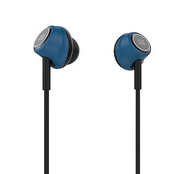 GEVO GV6 Ergo-fit estéreo Música auriculares in-ear con micrófono (Control en