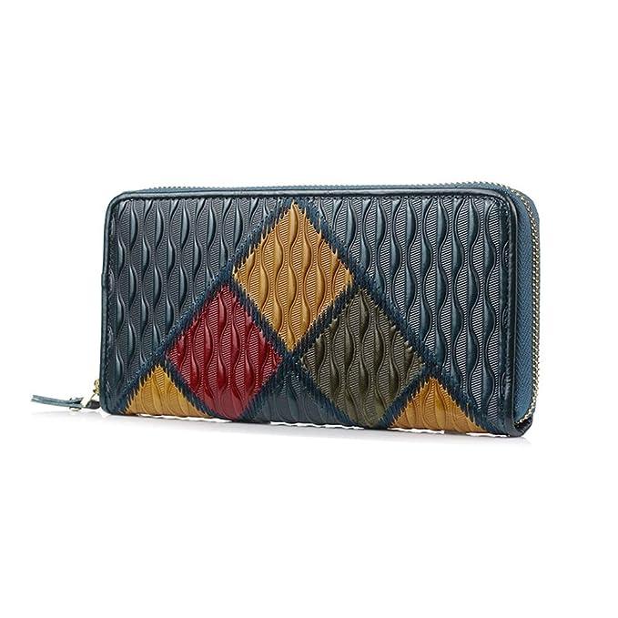 BIGLUX Bloques de cartera para mujer Organizador de embrague y cambio de cartera: Amazon.es: Ropa y accesorios