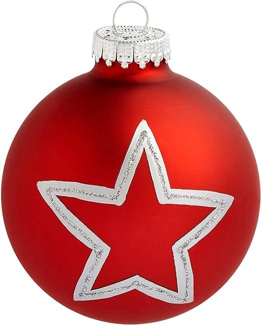 Weinflasche aus Glas Baumschmuck Weihnachtsdekoration Hänger rot 14,5cm