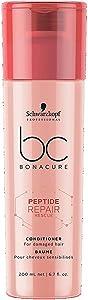 BC BONACURE Peptide Repair Rescue Conditioner, 6.7-Ounce