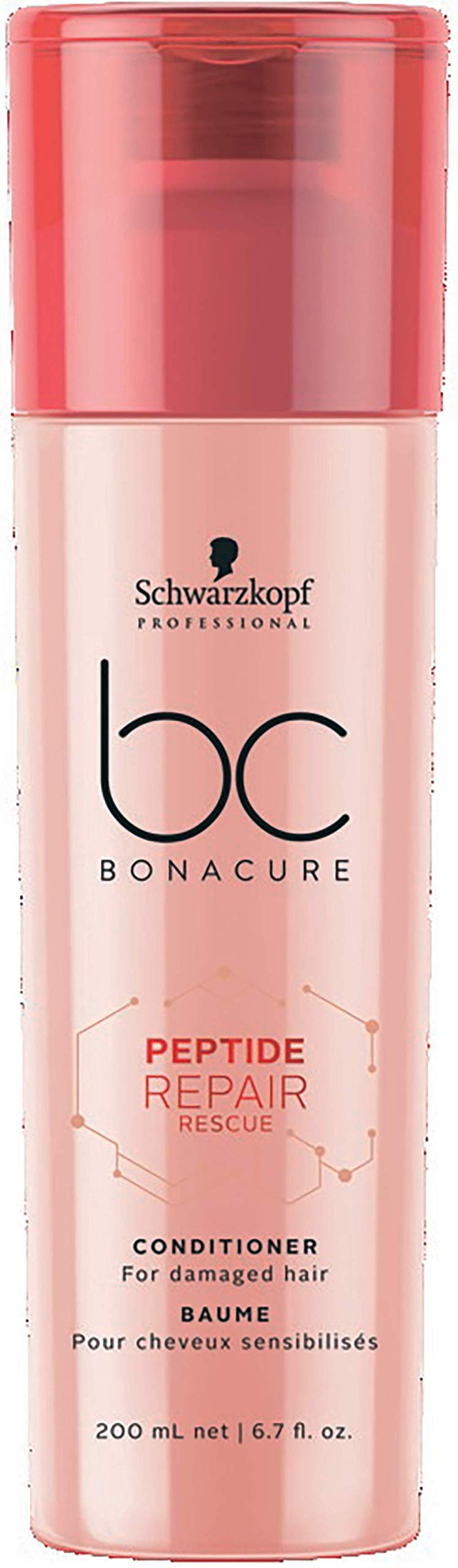 BC BONACURE Peptide Repair Rescue Conditioner, 6.7-Ounce