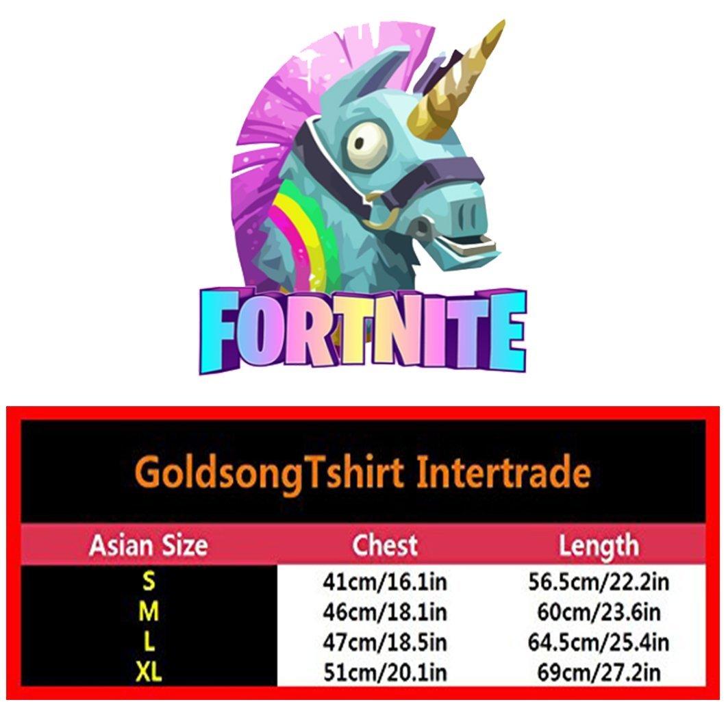 Anzhuzhen Full Zip Hoodie, Cotton Sweater Llama for-tnite Hoodies for Boys Kids Teen Girls by Anzhuzhen (Image #2)