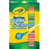 Crayola Super Tips Washable Markers-50/Pkg -Styles May Vary