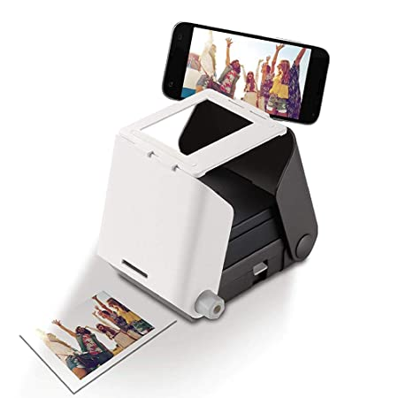 SHIYN Impresora portátil de Fotos portátil, Impresora ...
