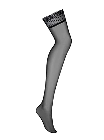 OBSESSIVE 817 Luxury Super Fine Sheer Lace Top Stockings