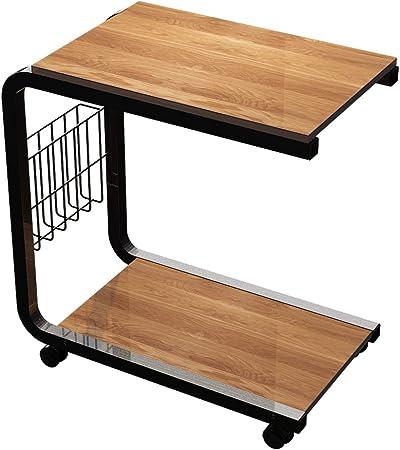 Soges Table Roulante De Lit Canape Pour Lecture 51 X 30 X 56 Cm