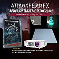 Atmosfearfx Bone Chillers windowfx Projector Bundle With Video On USB Flash Drive