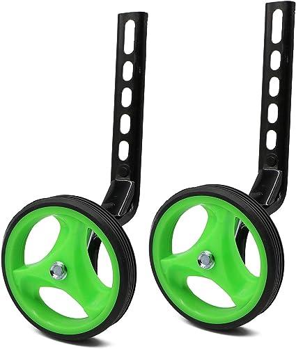 "Universal Kids Bicycle Training Wheels Fits 12/"" 14/"" 16/"" 18/"" 20/"" Bikes Adjustable"