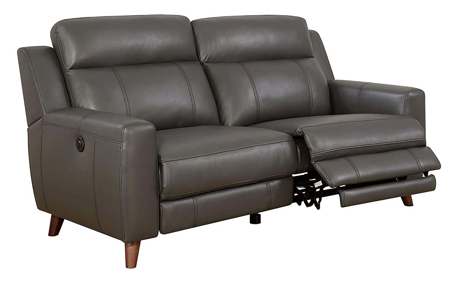 Stupendous Amazon Com Benzara Bm182911 Leatherette Power Recliner Sofa Dailytribune Chair Design For Home Dailytribuneorg