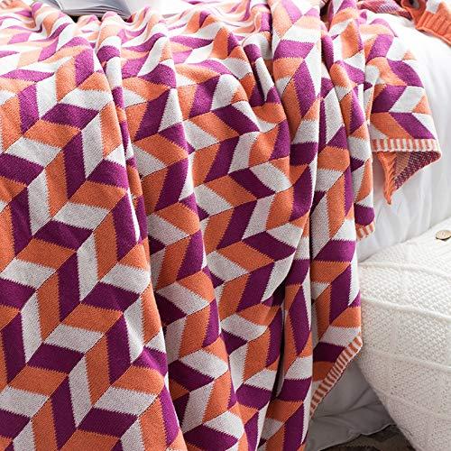 Amazon.com: JYTNB Cotton Super Soft Blanket Sofa Throws ...