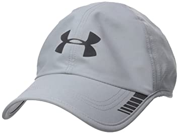 Under Armour Mens Launch AV Cap Gorra de Golf, Hombre, Gris (Steel Black