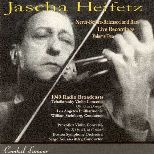 Jascha Heifetz Live, Vol. 2 by Cembal d'amour