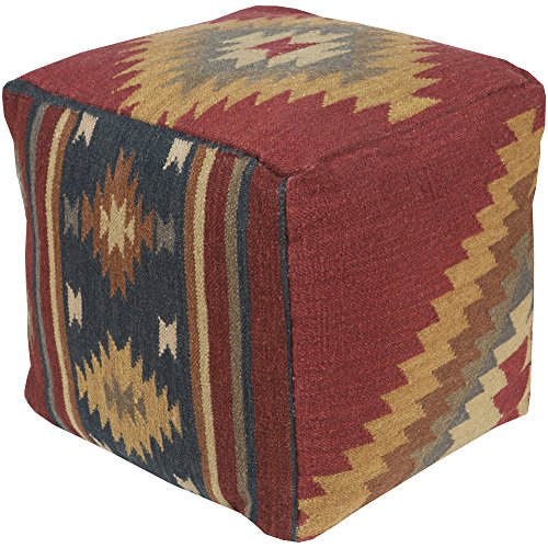 (Surya POUF-16 Decorative Pouf, 18