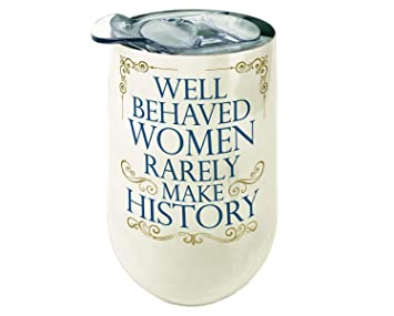 271c5e96aa2 Amazon.com: Spoontiques 16944 Well Behaved Women Stainless Wine ...