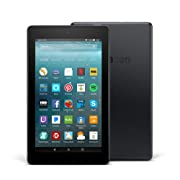 Certified Refurbished Fire 7 Tablet with Alexa, 7  Display, 8 GB, Black - with Special Offers