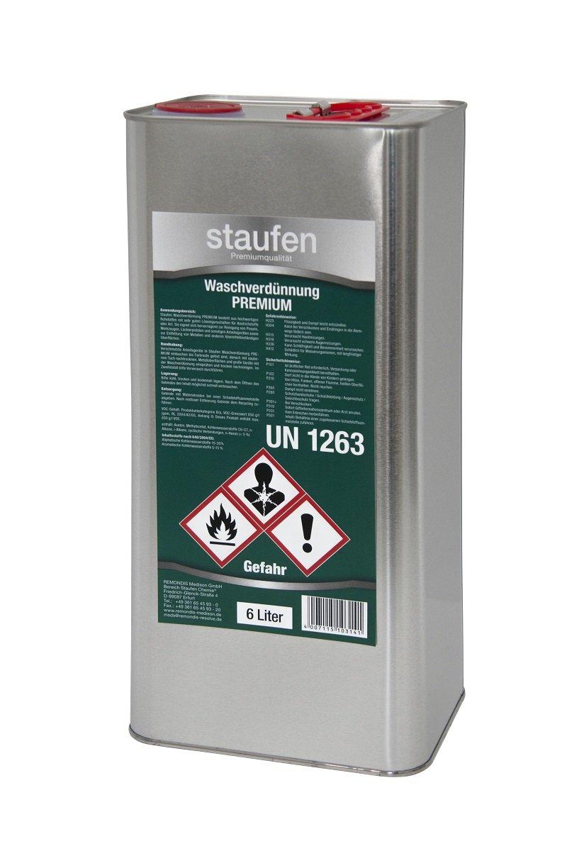 Staufen Waschverdü nnung Premium 6 Liter Reiniger Verdü nnung Reinigungsverdü nnung