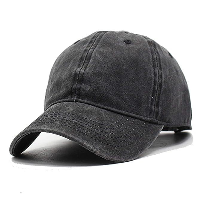 b1497dbefc7 Women Snapback Caps Men Baseball Cap Hats for Men Cotton Washed Blank  Vintage Baseball Caps Sun