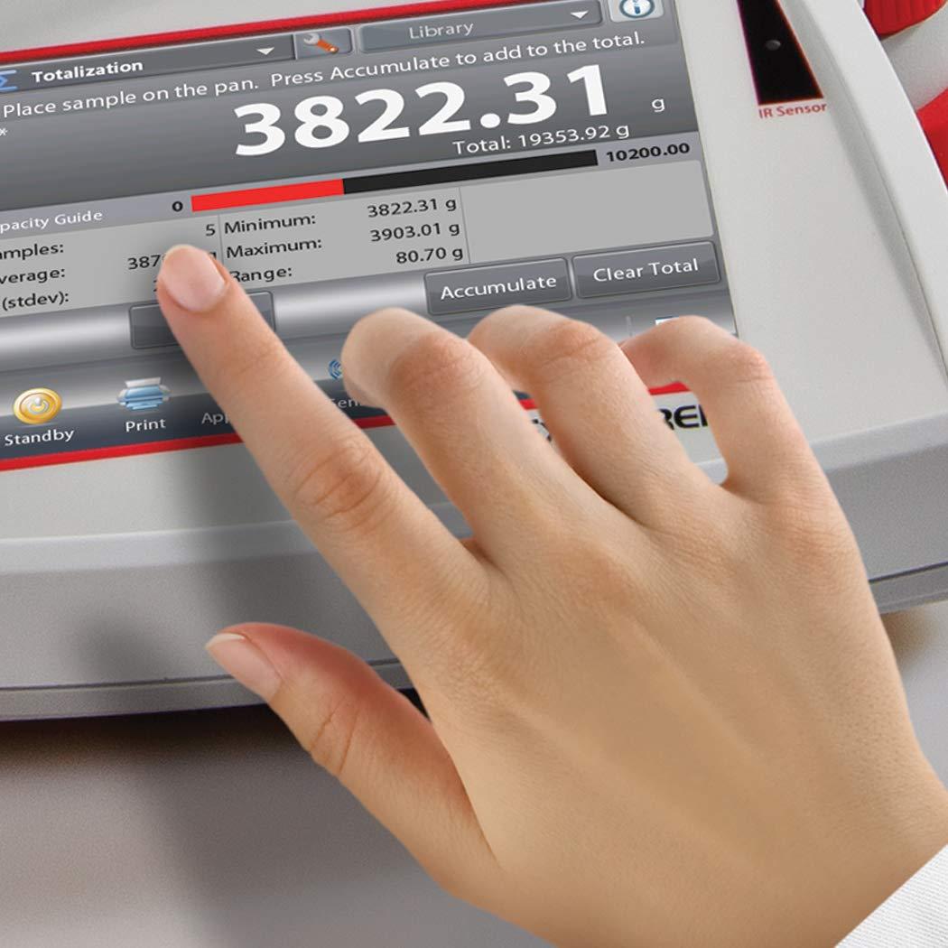 Ohaus Explorer EX124//AD Analytical and Precision Balances 120g x 0.1mg