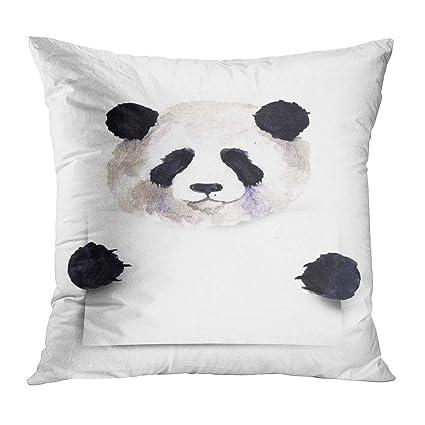 VANMI - Funda de almohada con diseño de panda de acuarela ...