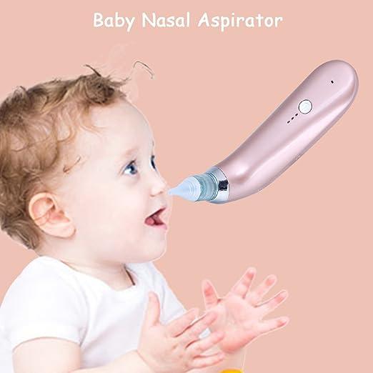 Nasensauger Baby Pink + Blau Schnell den Nasenschleim des Babys Entfernen f/ür Kinder 2 Weiches Silikon Tipps Tragbar Nasal Aspirator Nasensekretsauger
