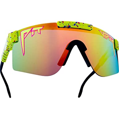 7bf83b5f9b ... Pit Viper Pit Viper Sunglasses Polarized 1993 Rainbow One Size