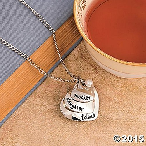 Mother's Day Gift MOTHER DAUGHTER FRIEND NECKLACE