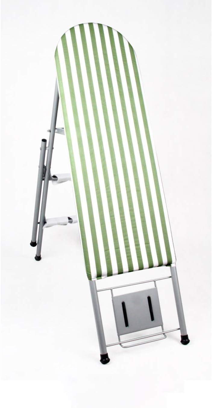 FS Doble Uso Tabla De Planchar Plegable Escalera De Casa Planchar Bastidor Tabla De Planchar Multifunción Plancha Eléctrica (Color : D): Amazon.es: Hogar